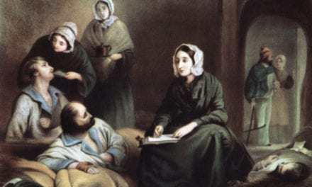 Not Exactly Florence Nightingale by Claire Scott