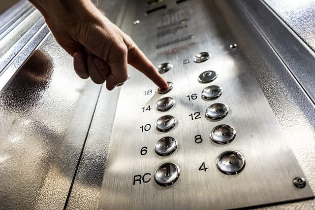 Elevator Romance by Alan and Barbara Meyrowitz