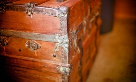 The Old Cedar Chest by Patricia Rossi